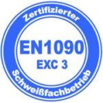 Zertifizierung DIN EN 1090 EXC3