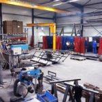 Schweißplätze der Firma Bonke tube design